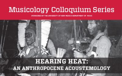 Hearing Heat: An Anthropocene Acoustemology