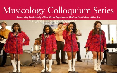 Musicology Colloquium Series: The Black Pacific: Music, Race, and Indigeneity in Australia and Papua New Guinea