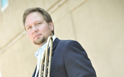 Chris Buckholz, Assistant Professor of Trombone, has released his third solo CD